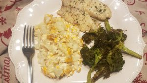 Scalloped Cauliflower, Low Carb and Keto Friendly