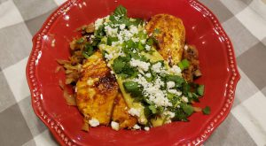 Low Carb Fish Tacos in a Bowl THM S
