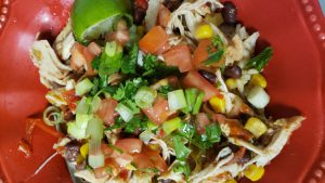 Instant Pot Chicken and Brown Rice Burrito Bowls Trim Healthy Mama E Meal