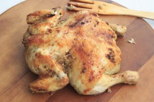 Crockpot Whole Roasted Chicken
