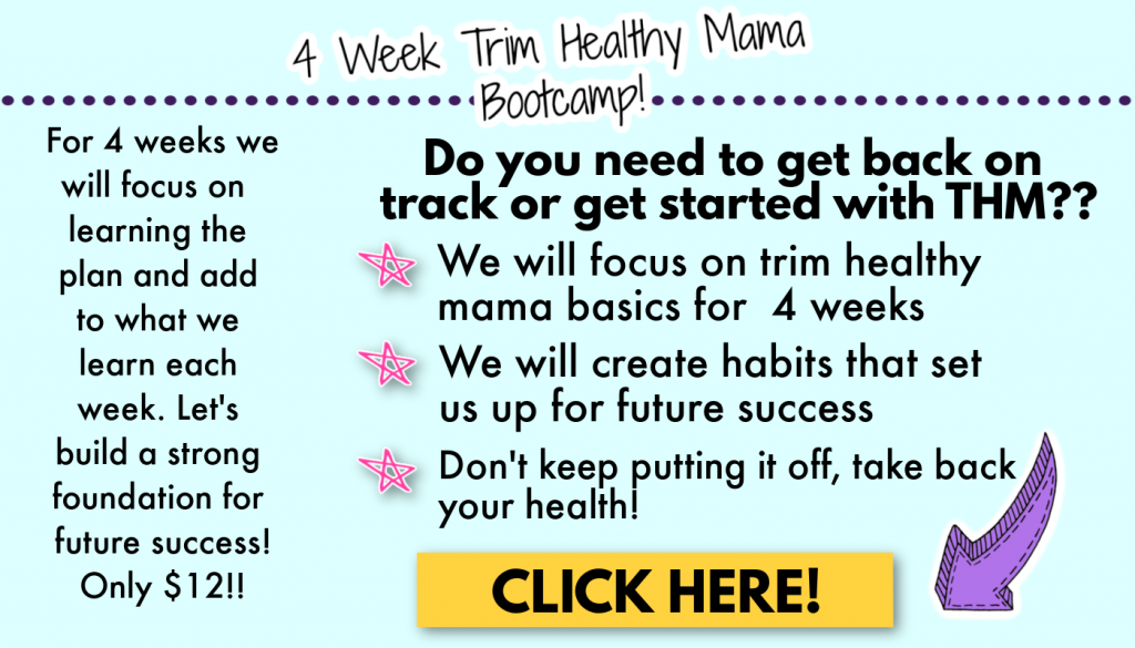 September Trim Healthy Mama Back to Basics Group