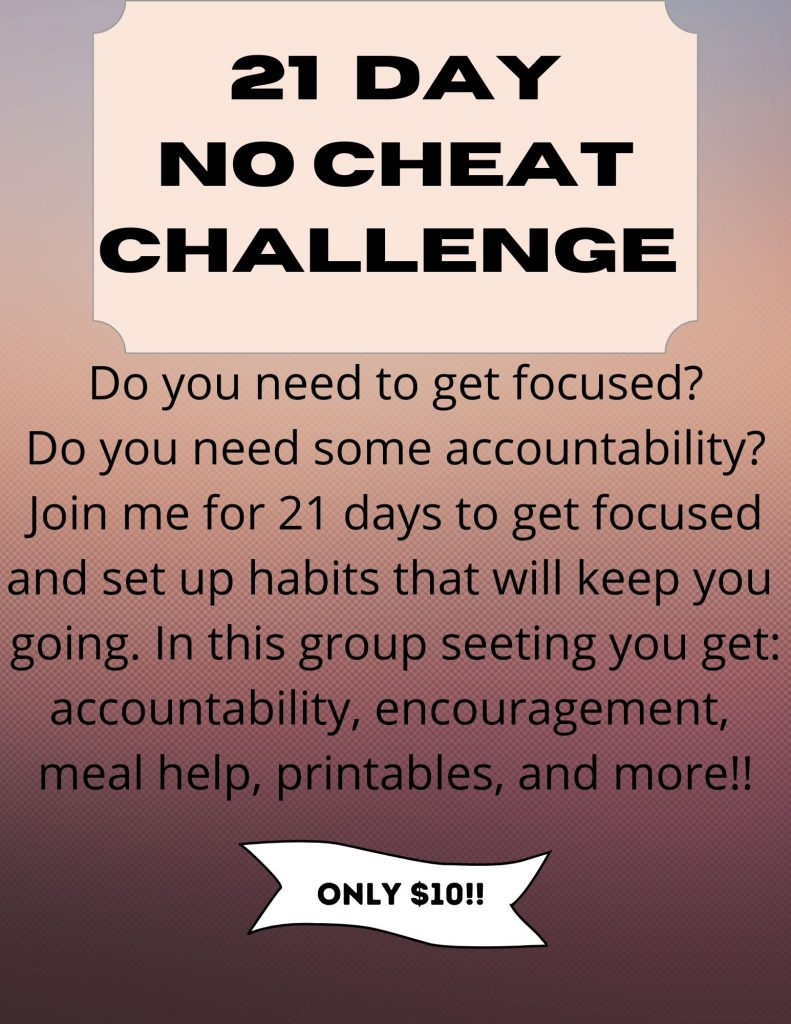 21 Day Trim Healthy Mama No Cheat Challenge
