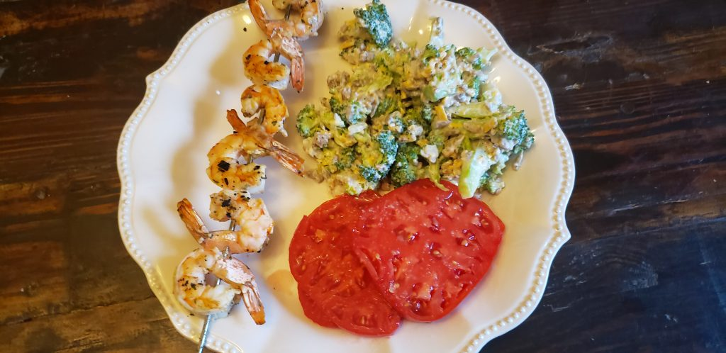 The Best Low Carb Grilled Shrimp
