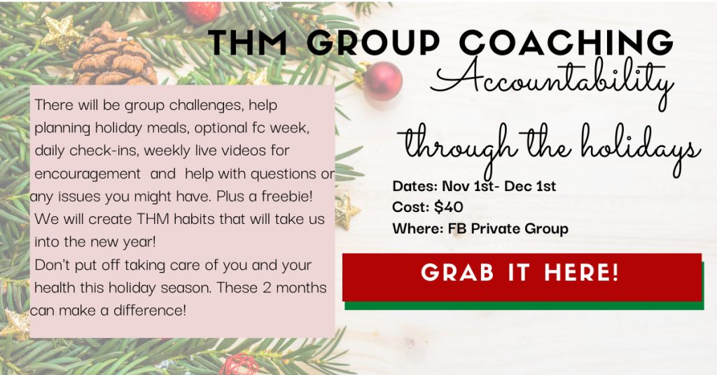 Holiday Group Coaching